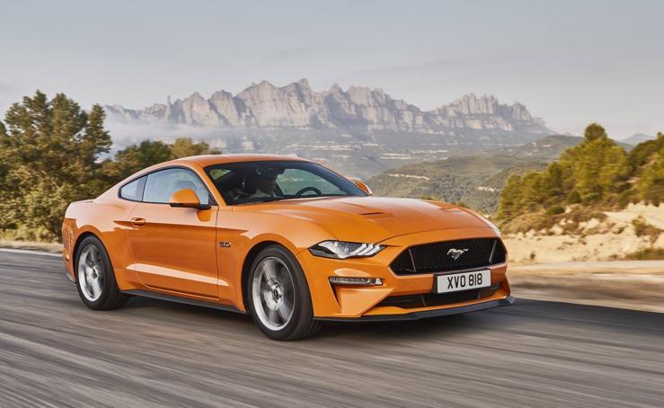 Ford Mustang, las imágenes del deportivo más vendido
