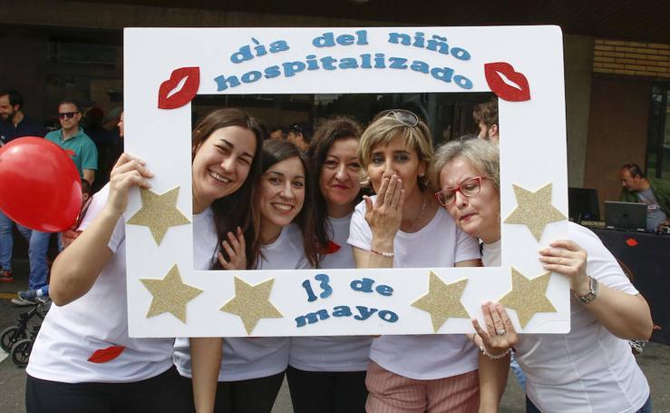 Actos organizados en el Hospital Clínico de Salamanca con motivo del Día del Niño Hospitalizado