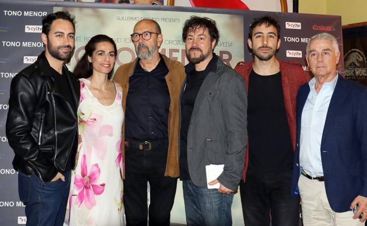 Presentación del corto 'Tono menor' en los cines Broadway de Valladolid