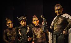 La tribu canta a capela en el Teatro Carrión