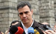 Pedro Sánchez respalda en Segovia la «extraordinaria gestión» de Óscar Puente