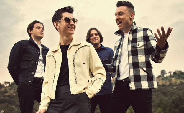 Los británicos Artic Monkeys./