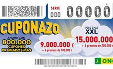 El sorteo del Cuponazo de la Once deja 100.000 euros en Zamora