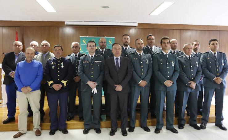 La Guardia Civil de Salamanca celebra los actos por el aniversario de su fundación