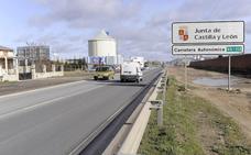 Santovenia reclama un carril bici y el desdoblamiento de la VA-113
