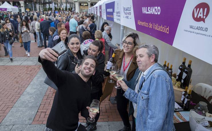 Jornada del viernes por la tarde en la feria 'Valladolid, plaza mayor del vino'