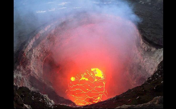 El estallido del Kilauea, en imágenes