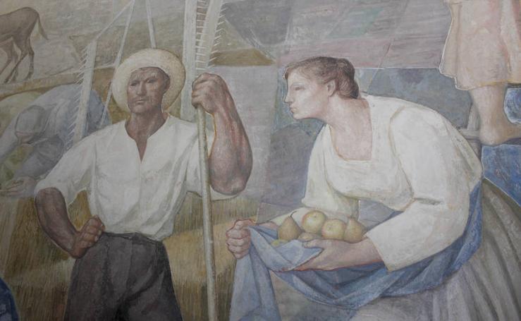 Así es la alegoría del trabajo, de Germán Calvo