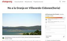 Una plataforma ciudadana lucha contra la construcción de una granja de cerdos en Cidones