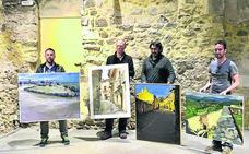 Diego Carmona, premio especial en el concurso de pintura Villa de Pedraza
