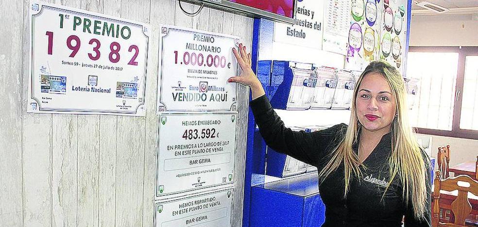 Hacienda se queda con el millón de euros de un boleto de lotería sellado en Miranda de Ebro