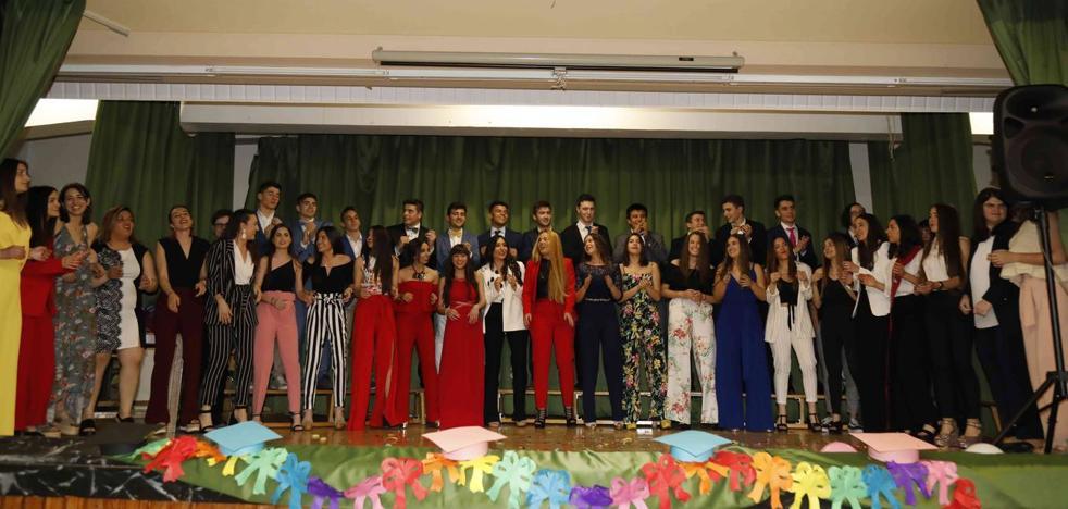 Graduación del curso 2016-2018 del IES Conde Lucanor de Peñafiel