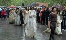 El TAC desafía a la lluvia con más representaciones que cancelaciones