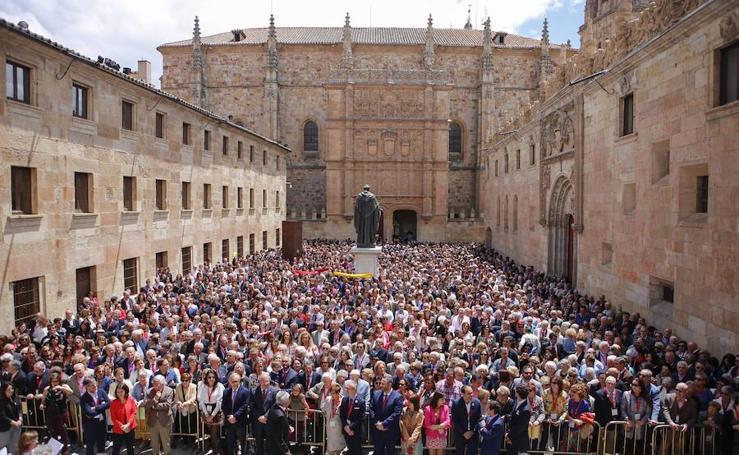 Reencuentro de exalumnos de la Universidad de Salamanca