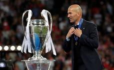 Zidane, un repóquer madridista a toda velocidad