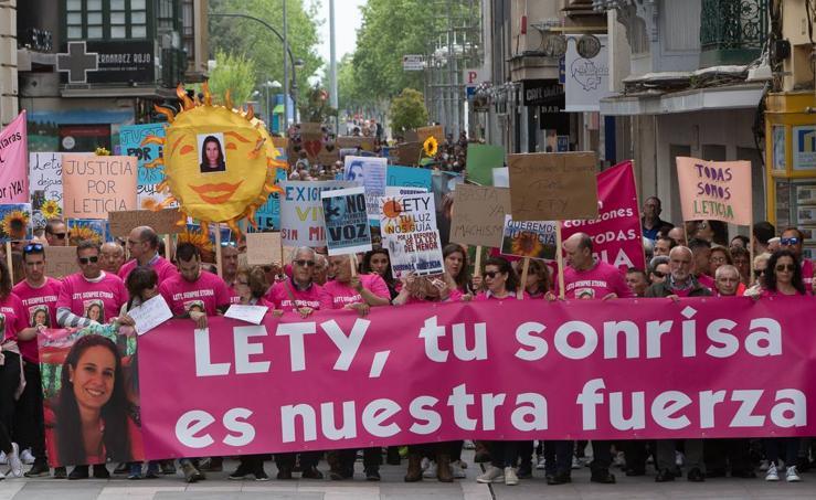 Zamora recuerda a Leticia Rosino
