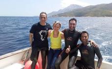Reto conseguido: Cuatro horas y veinte minutos para cruzar a nado el estrecho de Gibraltar