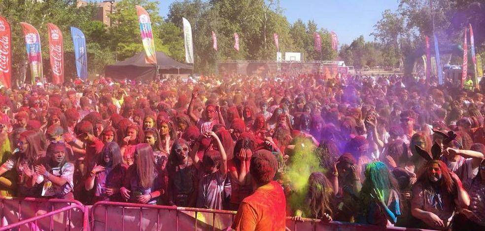 La carrera de colores 'Holi Life' espera reunir a 3.000 participantes el día 10