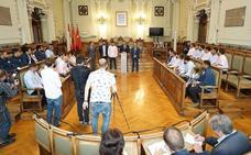 Valladolid rinde homenaje al VRAC y al CPLV por sus títulos de Liga
