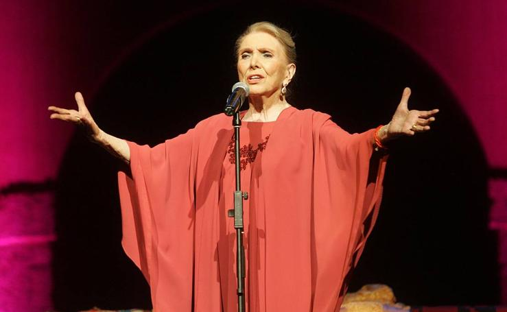 Las actuaciones de María Dolores Pradera, en Valladolid