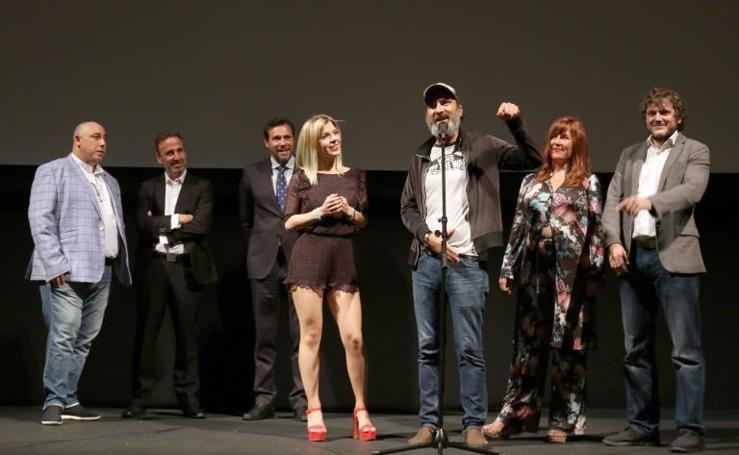 Presentación de la película 'El intercambio' en el teatro Calderón de Valladolid