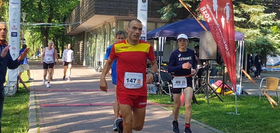 El ultrafondista Javi lozano completa casi 258 kilómetros en Timisoara