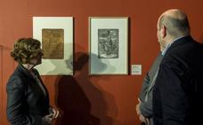 Amigos del Museo Nacional de Escultura enriquecen sus fondos con una plancha de cobre con la Virgen de las Angustias