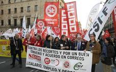Correos anuncia tres días de huelga en noviembre y diciembre