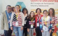 El municipio participa en el V Encuentro Estatal de Consejos de participación infantil