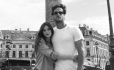 Escapada romántica de Feliciano López y Sandra Gago a París