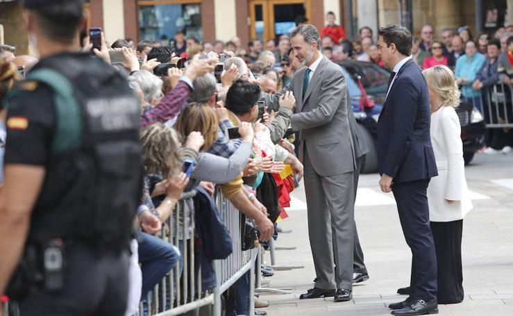 El Rey, recibido en Aguilar (2/2)