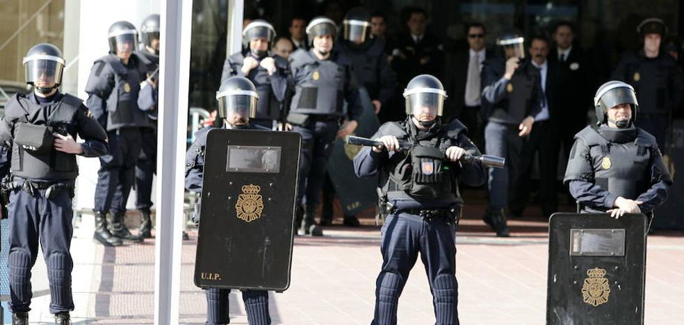 Convocan una concentración para pedir el cese del jefe de antidisturbios de Valladolid