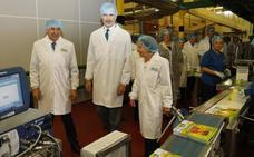 El Rey agradece a Gullón su compromiso con la innovación y el desarrollo de la industria
