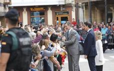 Aguilar recibe la visita del Rey como un respaldo al mundo rural y a sus empresas