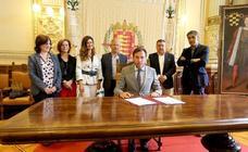 Valladolid, Arroyo, La Cistérniga, Laguna, Simancas y Zaratán firman el convenio de depuración tras tres años de trabajo