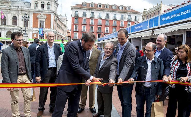 Inauguración de la 51 Feria del Libro de Valladolid