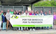 Los sindicatos piden reprobar a un edil de Viana por sus ataques a la Dirección del colegio