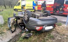 El fallecido al volcar ayer su coche en Olmedo es un músico medinense de 51 años