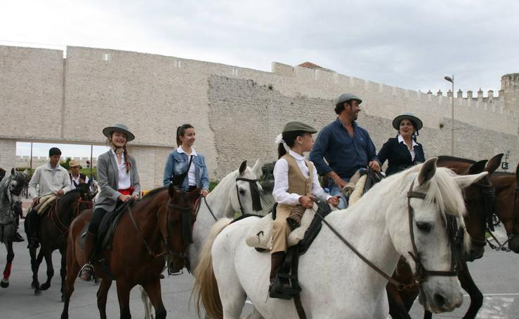 Feria del caballo en Cuéllar