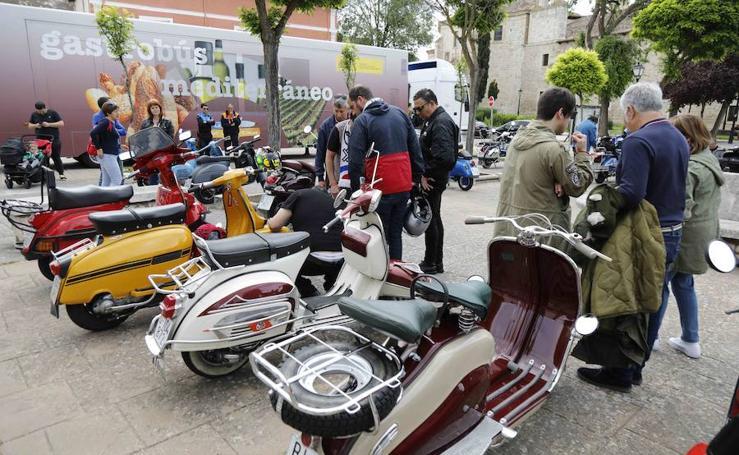 La Scooter Run Ribera del Duero se celebra este fin de semana en Peñafiel