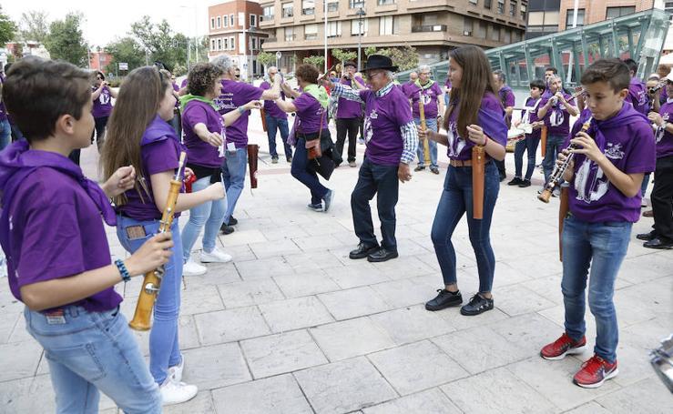 I Encuentro de dulzaineros Ciudad de Palencia