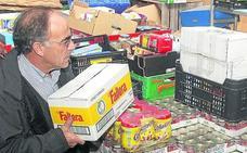 La falta de espacio trastorna la causa del Banco de Alimentos de Segovia