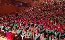 La Universidad Europea Miguel de Cervantes vibra con la ceremonia de graduación