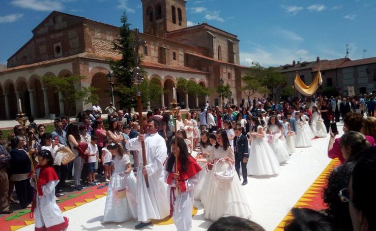 El Corpus Christi en la provincia de Valladolid