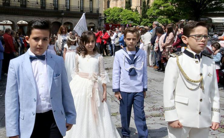 Procesión del Corpus en Segovia