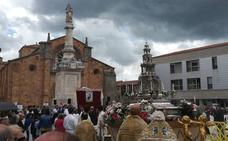 La lluvia respeta al Corpus Christi en Ávila