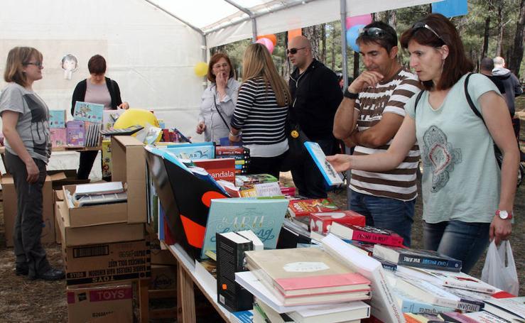 Feria del libro en San Benito de Gallegos