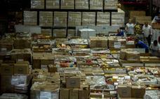 El Banco de Alimentos recibe los primeros 40.000 kilos donados para la campaña estival