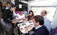 Los pinchos de Valladolid viajan en tren para promocionar el Concurso Provincial en Madrid