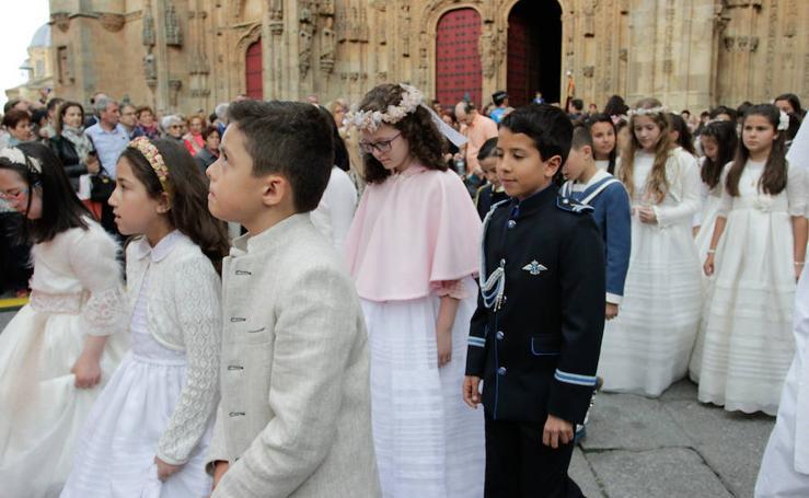 Procesión del Corpus Christi en Salamanca